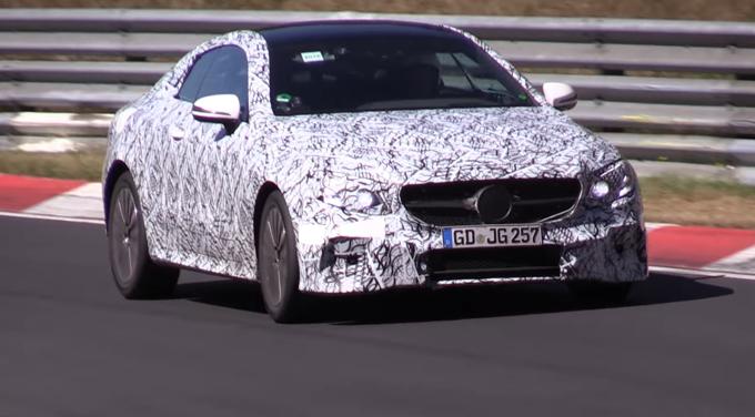 Mercedes Classe E: la Coupè sarà svelata a Detroit