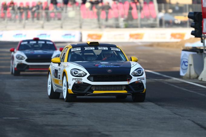 Abarth 124 rally: doppio impegno al Motor Show di Bologna e al Monza Rally Show [FOTO]