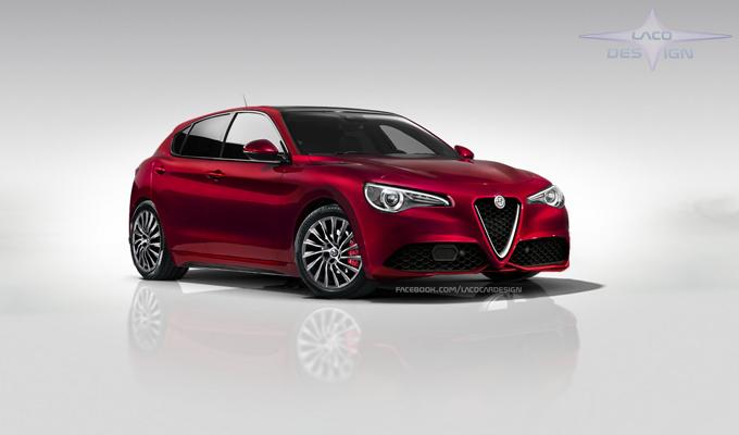 Alfa Romeo Giulietta MY 2018: una nuova ipotesi stilistica [RENDERING]
