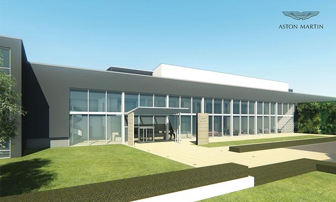 Aston Martin: iniziata la costruzione di una nuova fabbrica in Galles