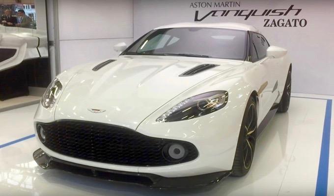 Aston Martin Vanquish Zagato Coupé: stile e potenza in evidenza al Motor Show 2016 [VIDEO]