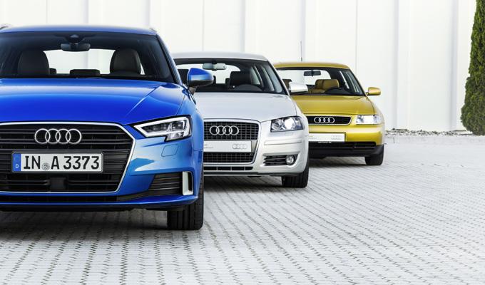 Audi A3: un concetto di innovazione che prosegue da 20 anni