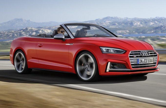 Nuove Audi A5 e S5 Cabriolet: sul mercato italiano da 52.950 euro