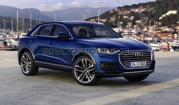 Audi Q3 MY 2018: un'idea del possibile aspetto? [RENDERING]