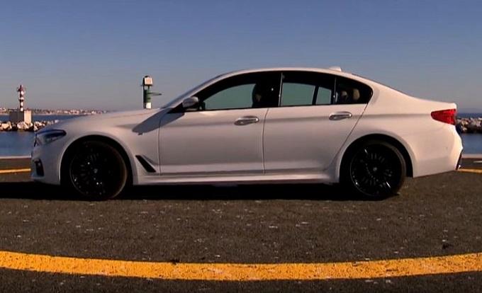 BMW Serie 5 MY 2017: il passo felpato della sportività [VIDEO]