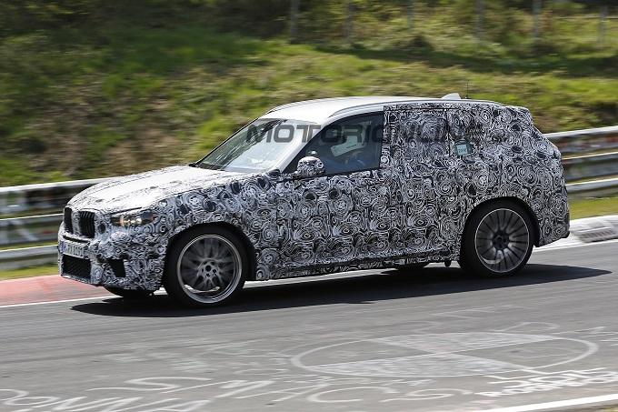 BMW X3 M: VIDEO SPIA della nuova generazione