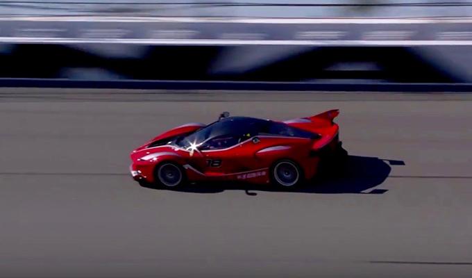 Ferrari Finali Mondiali 2016: FXX K e F333 SP tra le leggende Rosse della pista [VIDEO]