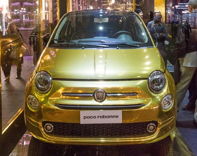Fiat 500, one-off per Paco Rabanne realizzata da Garage Italia Customs [FOTO]