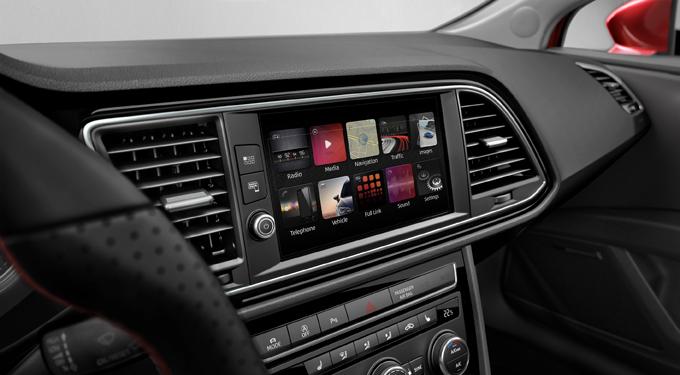 Seat: il design ruota attorno allo schermo [FOTO]