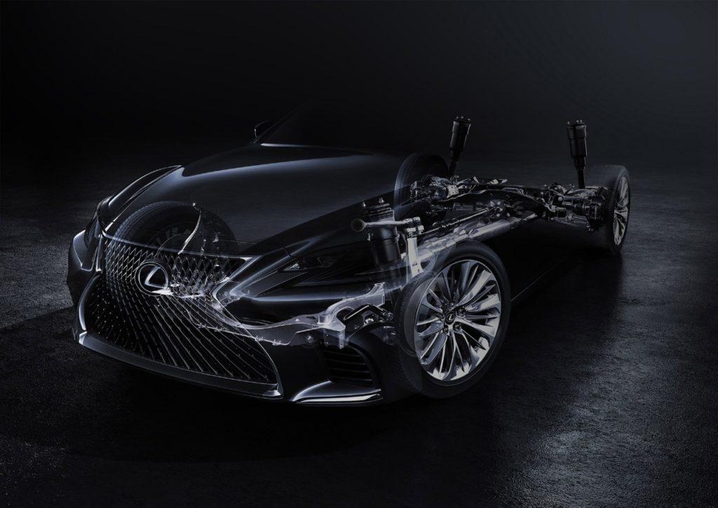 Nuova Lexus LS: debutto fissato al Salone di Detroit 2017 [TEASER]