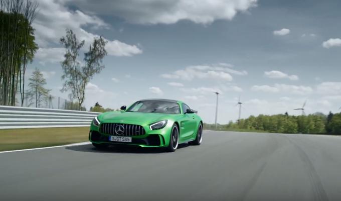 """Mercedes-AMG GT R: voce e movenze da """"Bestia"""" [VIDEO]"""