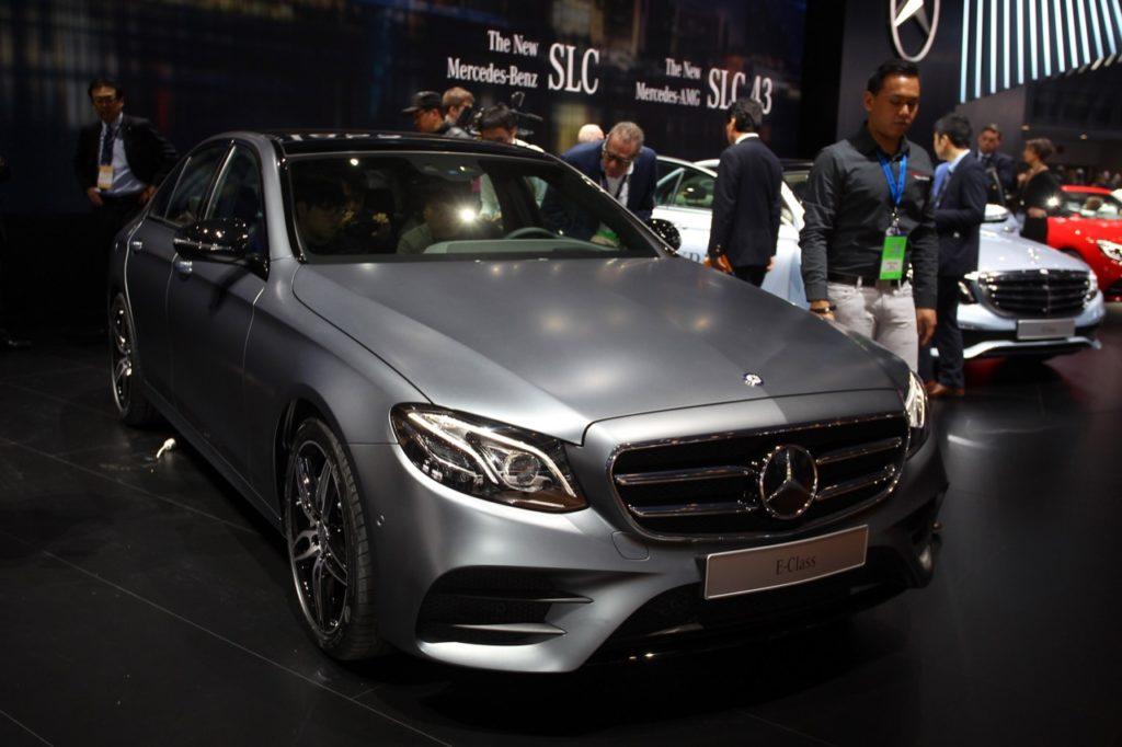 Nuova Mercedes Classe E Coupé, due porte e tanto spazio
