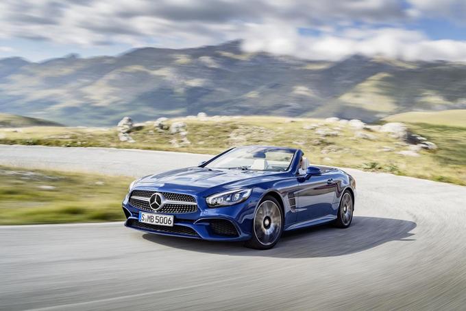 Mercedes Classe SL: la settima generazione adotterà la piattaforma della AMG GT