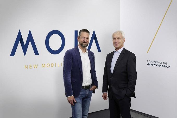 Il Gruppo Volkswagen lancia MOIA, la sua nuova società per i servizi di mobilità