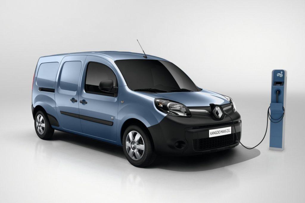 Nuovo Renault Kangoo Z.E. alza l'asticella dell'autonomia che sale a 200 chilometri