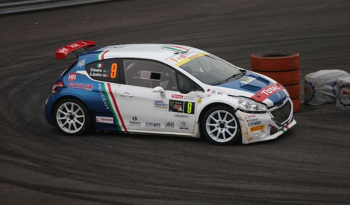 Paolo Andreucci e Anna Andreussi vincono con Peugeot al Monza Rally Show 2016