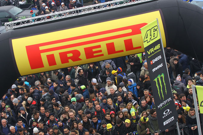 Pirelli al Monza Rally Show 2016: trionfo nel Rally e nel Masters' Show con il Team VR46