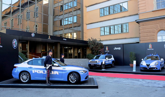Alfa Romeo Giulia Veloce: due esemplari consegnati alla Polizia