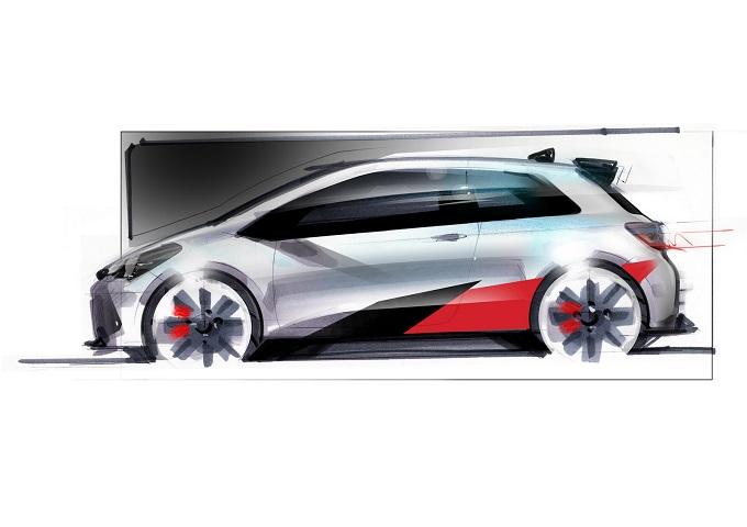 Toyota Yaris high-performance, c'è la conferma: si ispirerà alla versione WRC [SKETCH DESIGN]