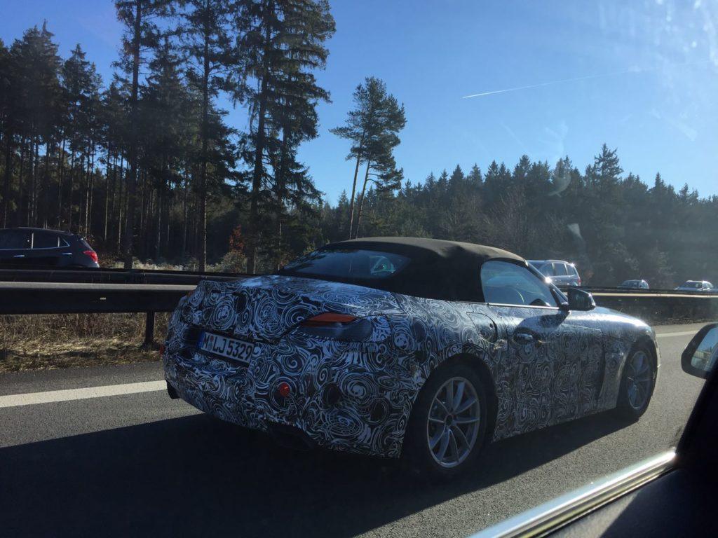 BMW Z5: nuova foto spia della futura roadster
