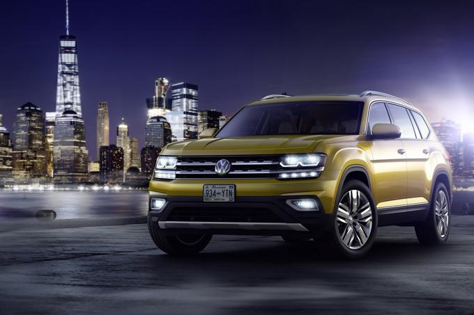 Volkswagen Atlas: potrebbe essere rilasciato in alcuni paesi europei