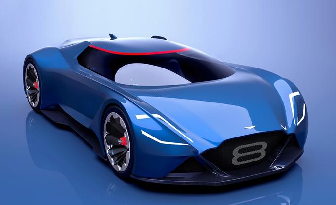 Aston Martin Vision 8: la Vantage futuristica [RENDERING]
