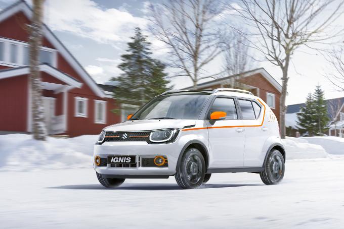 """Suzuki IGNIS è """"Auto ufficiale"""" del Vertical Winter Tour"""