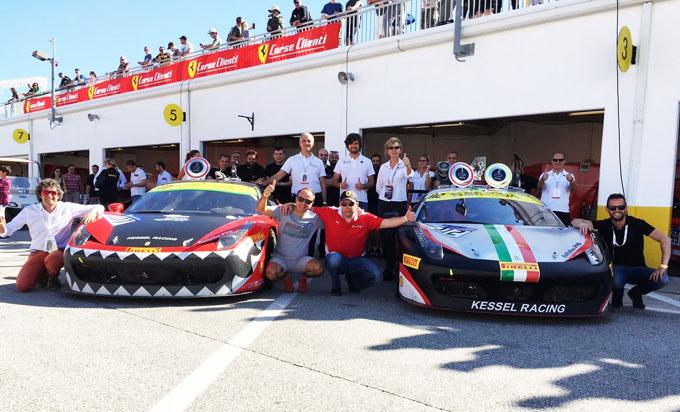 Ferrari Finali Mondiali 2016: Kessel Racing di nuovo protagonista nel Challenge