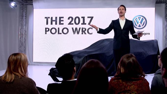 Volkswagen: ironia durante la presentazione della Polo R WRC 2017 [VIDEO]
