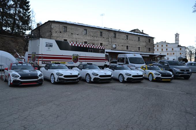Abarth 124 Rally: si avvicina il debutto all'85° Rallye di Monte Carlo