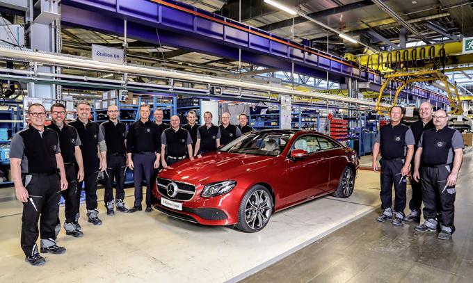Mercedes Classe E Coupè MY 2017: iniziata la produzione in Germania