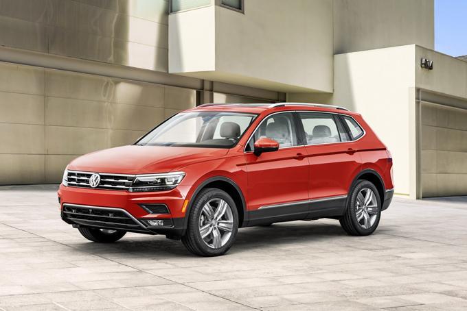 Volkswagen Tiguan 2018: la versione a passo lungo per il mercato USA