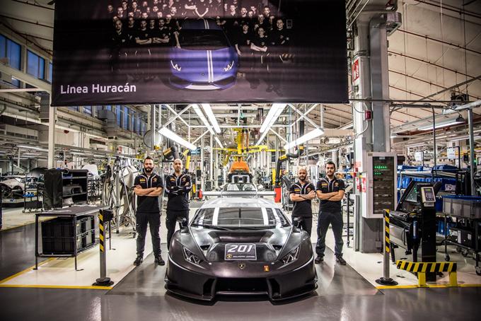 Lamborghini Huracan: realizzati oltre 200 esemplari da corsa in 2 anni