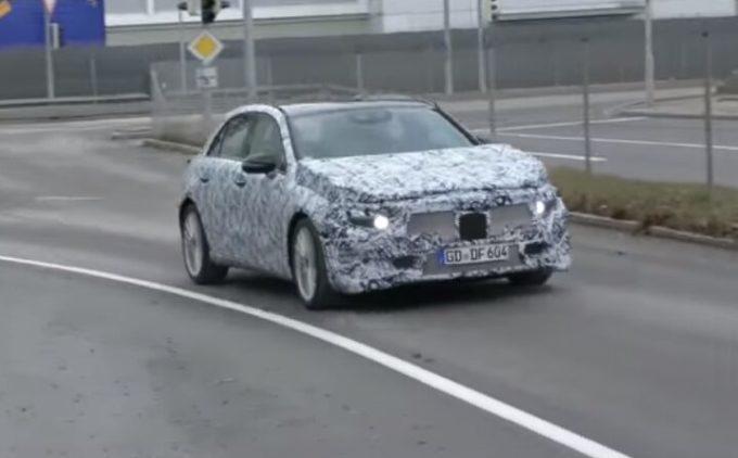 Mercedes Classe A: proseguono i test drive del nuovo modello [VIDEO SPIA]