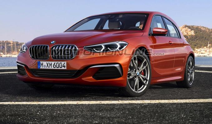 BMW Serie 1 MY 2018: potrebbe avere questo aspetto? [RENDERING]