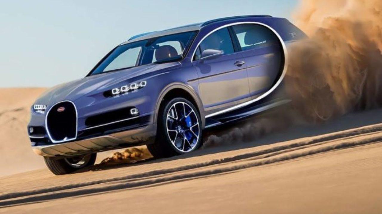 Bugatti La Pazza Idea Di Un Super Suv Rendering