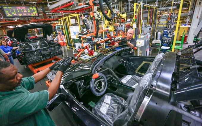 General Motors, impianto di Bowling Green: possibile chiusura per lavori di ristrutturazione