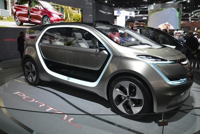 Chrysler Portal Concept: un modello analogo potrebbe affrontare la produzione dopo il 2018