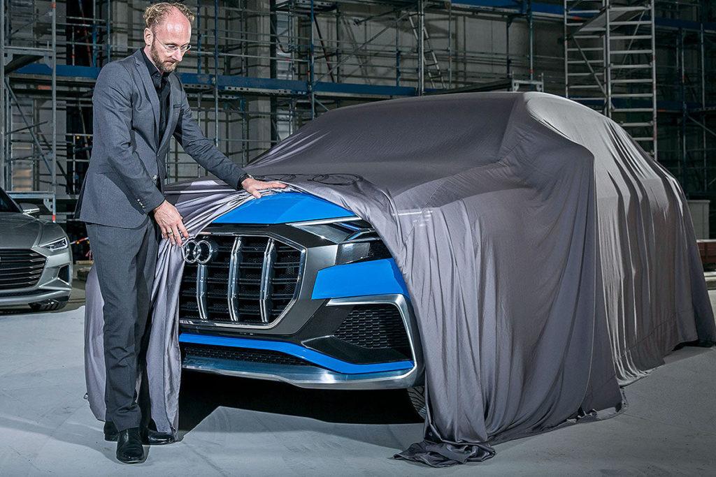 Audi Q8 Concept in anteprima al Salone di Detroit 2017
