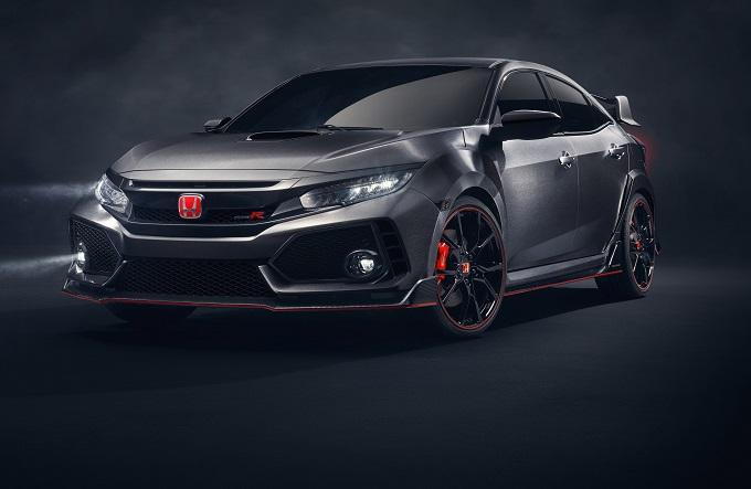 Honda Civic Type R, il prototipo della nuova generazione debutta al Tokyo Auto Salon