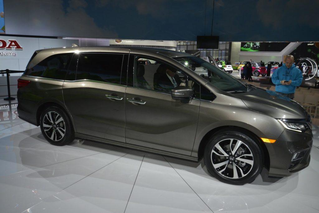 Honda Odyssey MY 2018, a Detroit su il sipario sulla quinta generazione [FOTO]