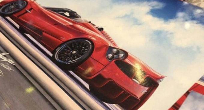 Pagani Huayra Roadster: un'inedita immagine mostra come sarà