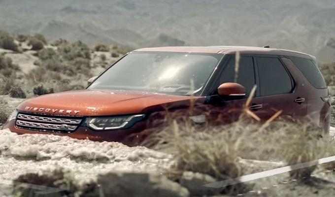 Land Rover Discovery 5, non c'è guado da temere [VIDEO]