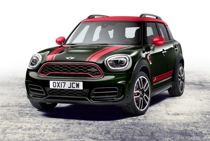 Mini John Cooper Works Countryman 2017: pronta al debutto