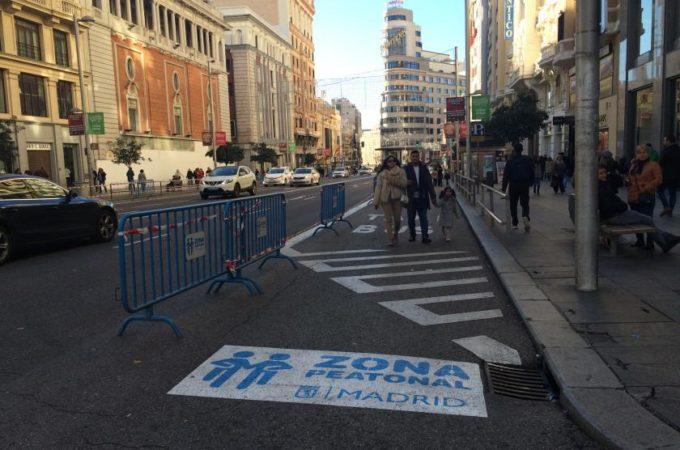 Madrid verso la chiusura totale del traffico in centro entro il 2019
