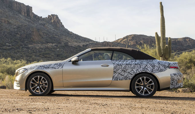 Mercedes-Benz Classe E Cabriolet MY 2018: alcune indicazioni affiorano sul web