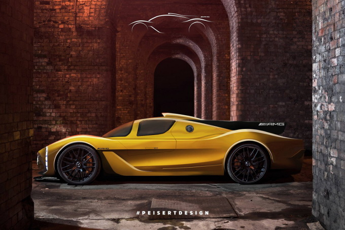 Mercedes-AMG Project One, iniziano a delinearsi le forme dell'Hypercar [RENDER]