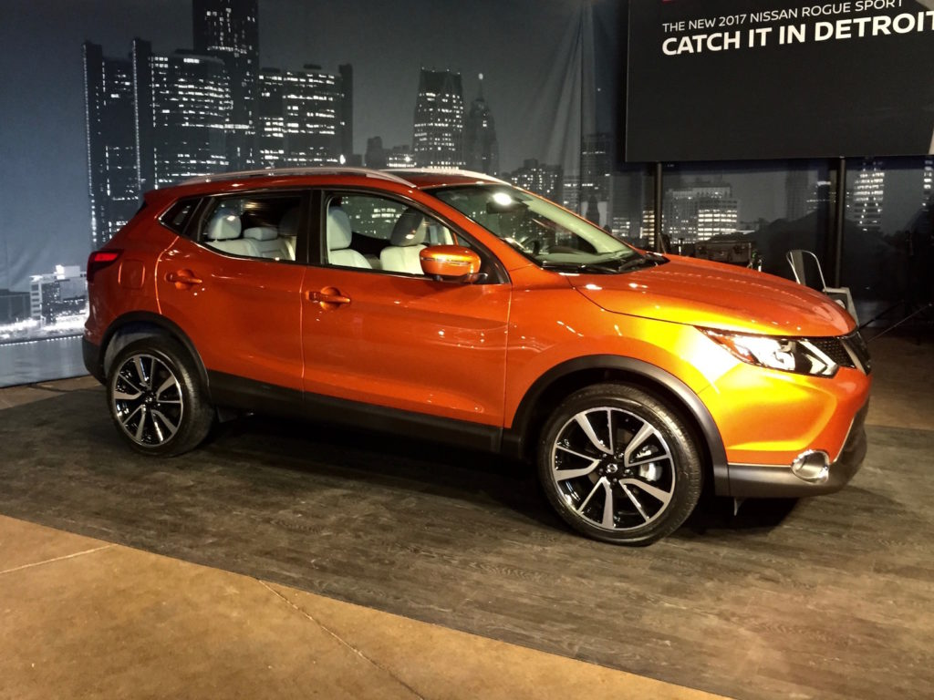 Nissan Rogue Sport, a Detroit un nuovo crossover per gli USA [FOTO e VIDEO]