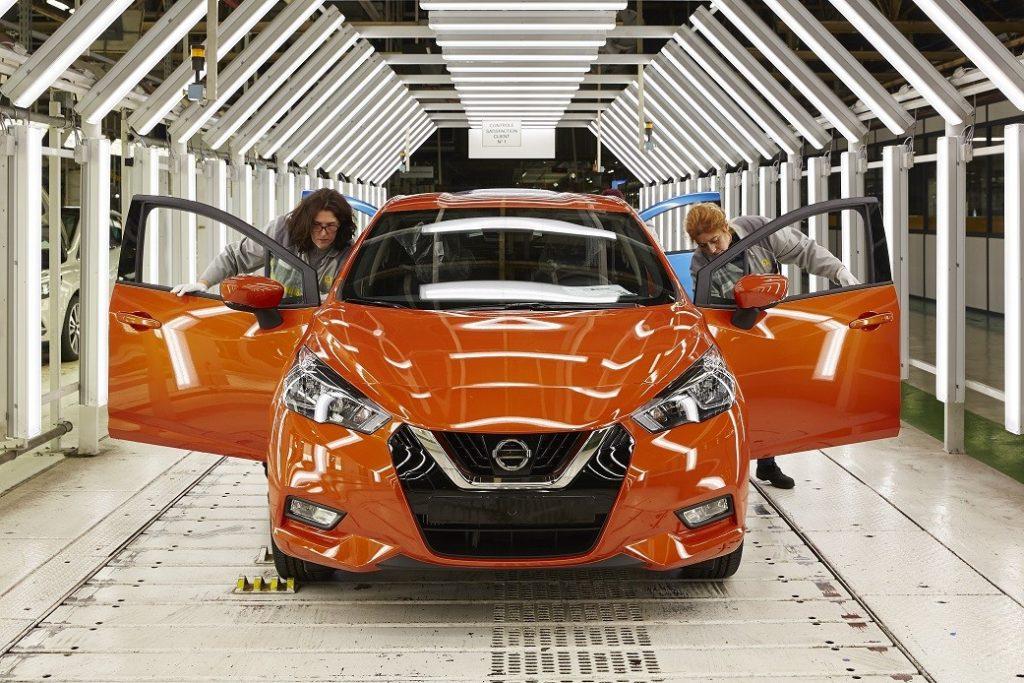 Nuova Nissan Micra: partita la produzione