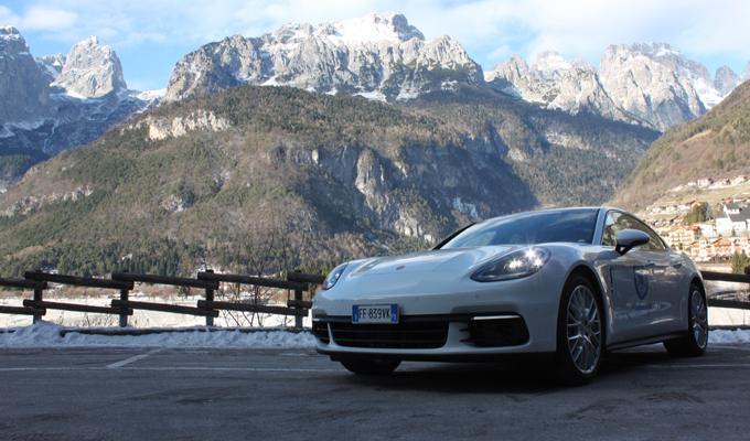 Pirelli Winter Sottozero 3 e nuova Porsche Panamera